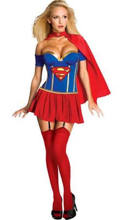 sidste skoledag kostume superwoman