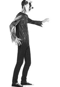 Uhyggeligt halloween kostume fra morsø